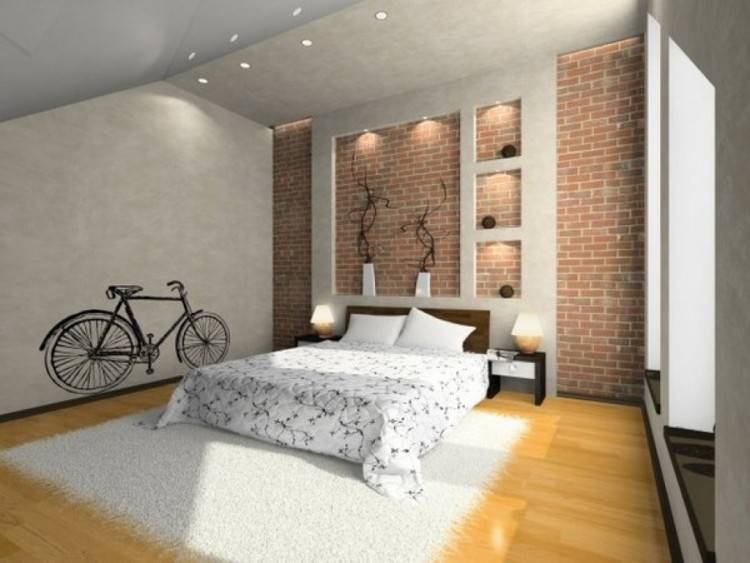 wallpaper bedroom ideas accent wall ideas surely wish to try this at home tags accent wall