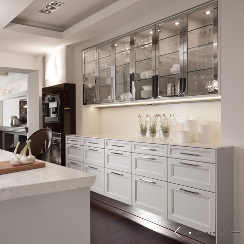 We talked before about how doors can transform the look of a kitchen and that is even truer with kitchen cabinet glass doors