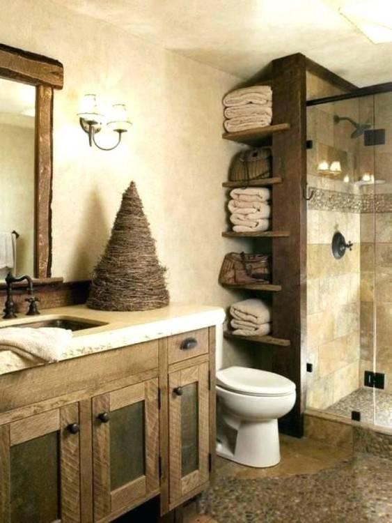 brown and blue bathroom ideas