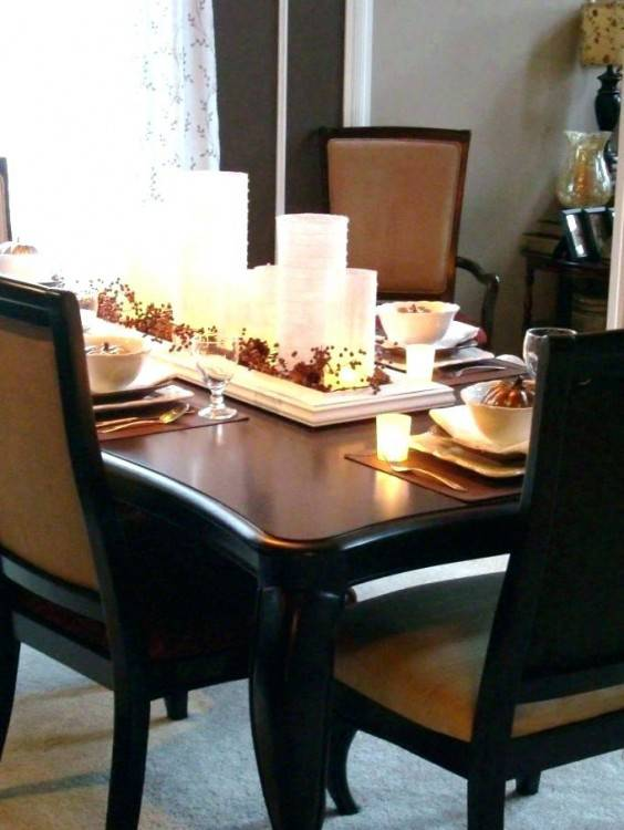 30 Beautiful And Cozy Fall Dining Room Dcor Ideas Digsdigs Best Dining  Room Decor Ideas