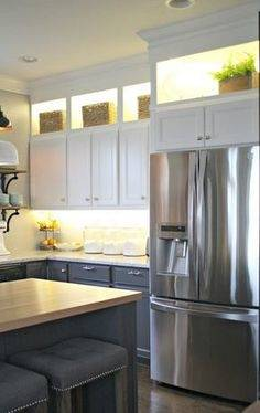 Fine Design Kitchen Cabinet Crown Molding On Cabinets