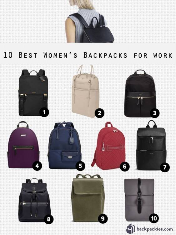women's everyday backpack purse coffee