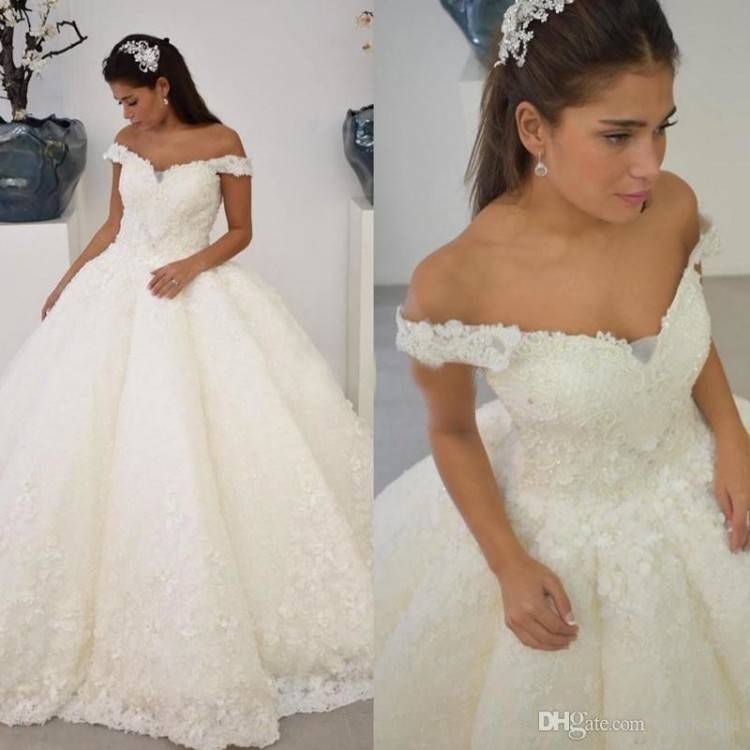 Vintage Princess Style Wedding Dresses In Turkey Off Shoulder Short Sleeve Plus Size Bridal Gowns Court Train Cheap Gowns Dresses Hawaiian Wedding Dresses