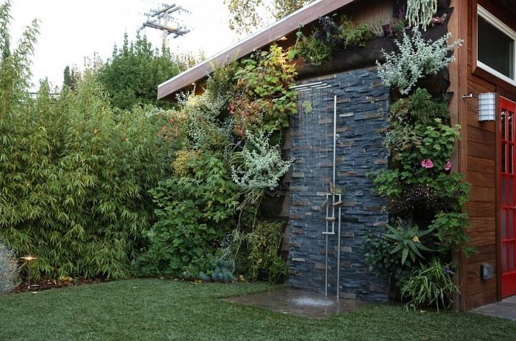 Outdoor Lighting, Contemporary Outdoor Shower Lights Elegant 21  Refreshingly Beautiful Outdoor Showers I Bet You