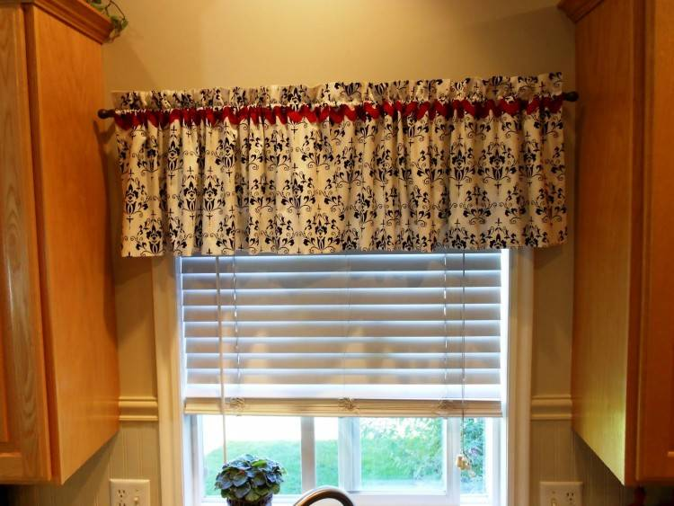 window valance curtains for the interior design of your home
