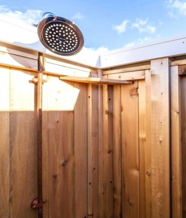 outdoor shower ideas basic 9 easy dog head cool showers to spice up your backyard amazing