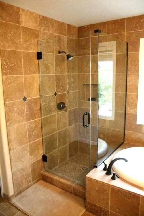 Tile Shower Ideas For Small Bathrooms Large And Beautiful Photos inside Small Shower Bathroom Design
