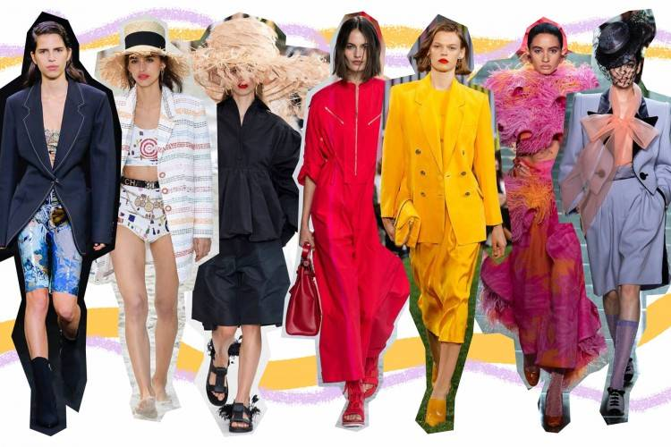 Instead of calling out every single trend we saw on the catwalks, we've  painstakingly narrowed it down to the top nine spring trends you should  know