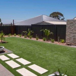 Turn a wasted space into a green outdoor living space with EasyTurf artificial  grass