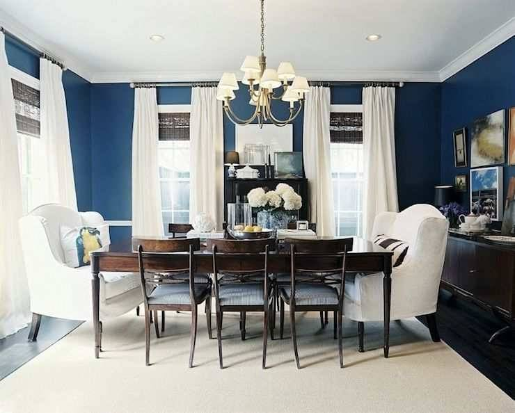 32 Best Blue Dining Room Another Time Images On Pinterest Blue Innovative Dining Room Paint Colors