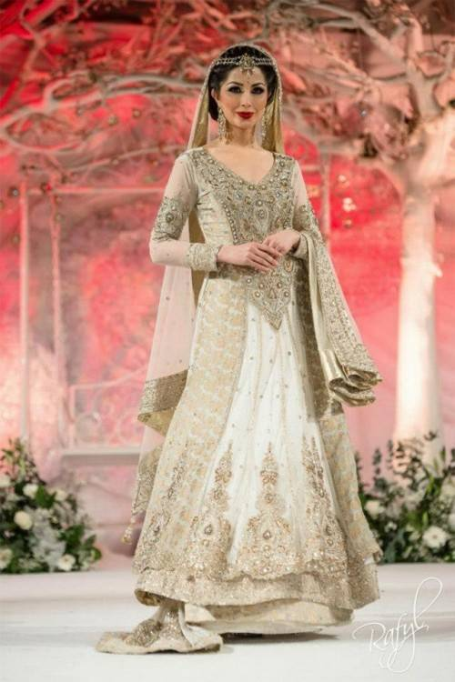 Pakistani new bridal dresses ~ pak fashion