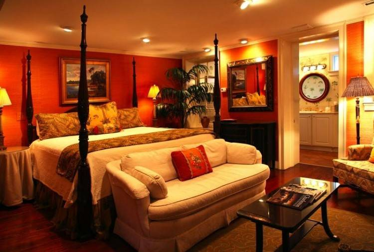 orange paint colors for bedrooms