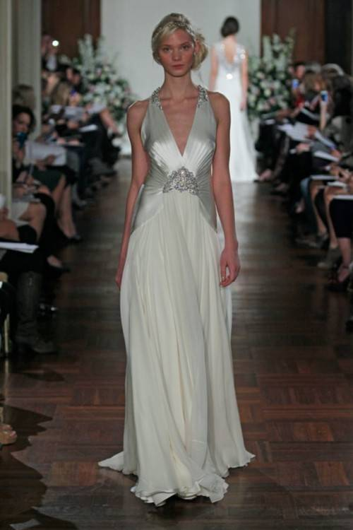Vintage Inspired Eliza Jane Howell Florence Wedding Dress | www