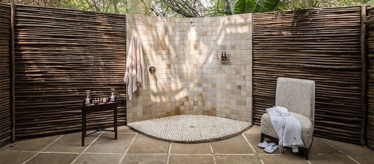 OUTSIDE OUTDOOR SHOWERS IN SOUTH AFRICA