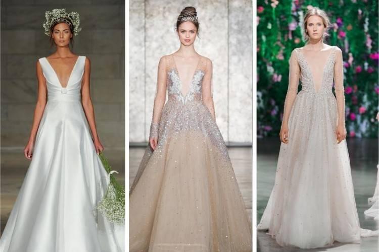 Bridal Fashion Week Fall 2018 Off The Shoulder Wedding Dress |  www