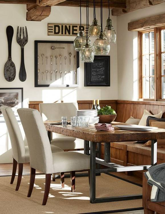 Classic Dining Room Design With Toscana Extending Rectangular throughout Pottery Barn Dining Room Table