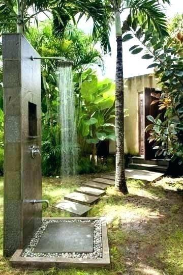outside shower ideas