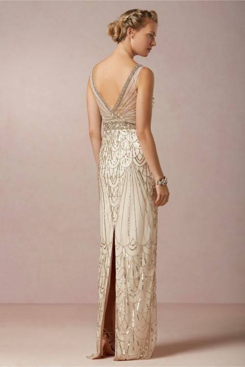1920s  Wedding Gown · Vintage Style