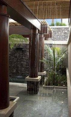 Pool House Bathroom · Outdoor