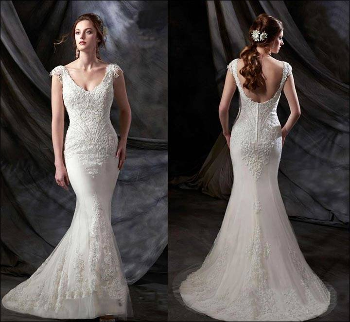 When you work with a custom bridal designer, you can create a gown that not  only fulfills your vision but also flatters your particular figure and is