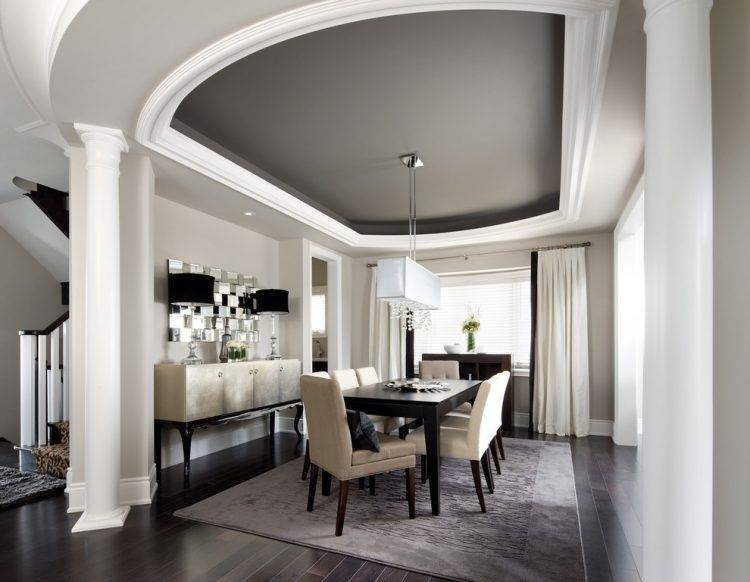 beautiful open floor plan living dining room crown molding ideas fabulous for home