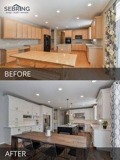 Gregg & Merriann's Kitchen Before & After Pictures