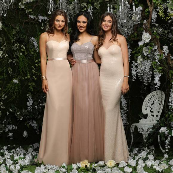 Bridesmaid Outfit · Wrap Bridesmaid Dresses