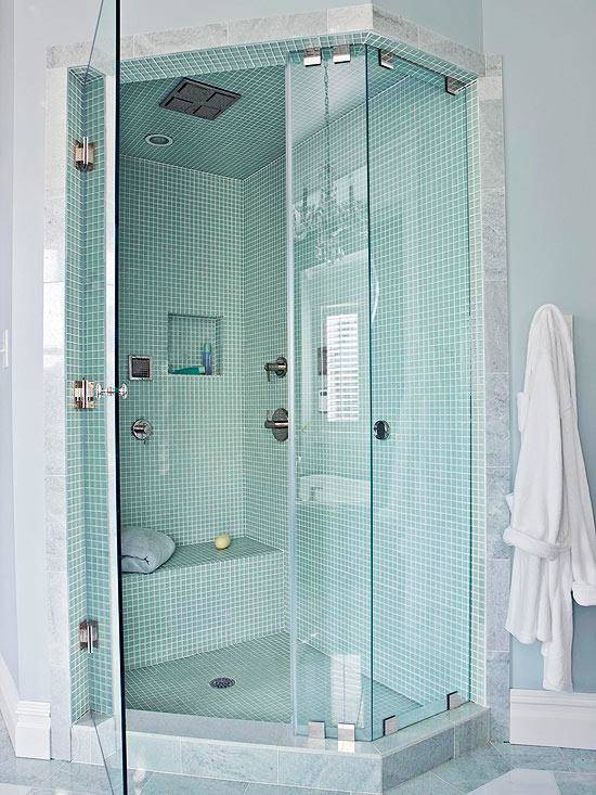 master shower ideas two person walk in shower design with turquoise mosaic tiling master bathroom ideas