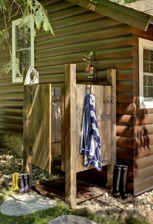 backyard shower outdoor