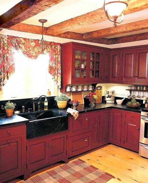 red kitchen ideas red country kitchen ideas kitchen here design ideas org  rustic country kitchen red