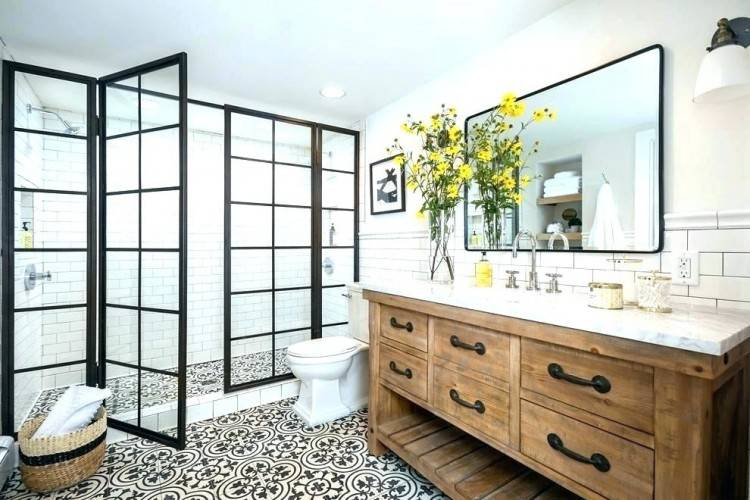 Bathroom Subway Tile Ideas Yellow Lovely With Regard To