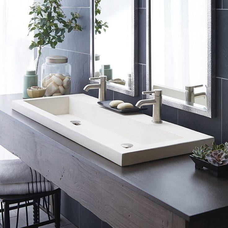 Whether it's round or square, small or undermount, bathroom sinks come in  all shapes and sizes to fit your style