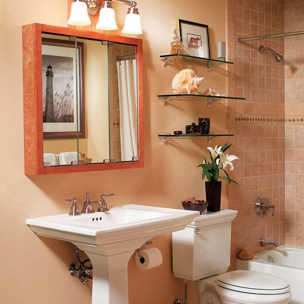 Astounding 15 Creative Shelving for Small Bathroom Ideas Shelving for small  bathroom is always an idea people want to learn about for effective bathroom