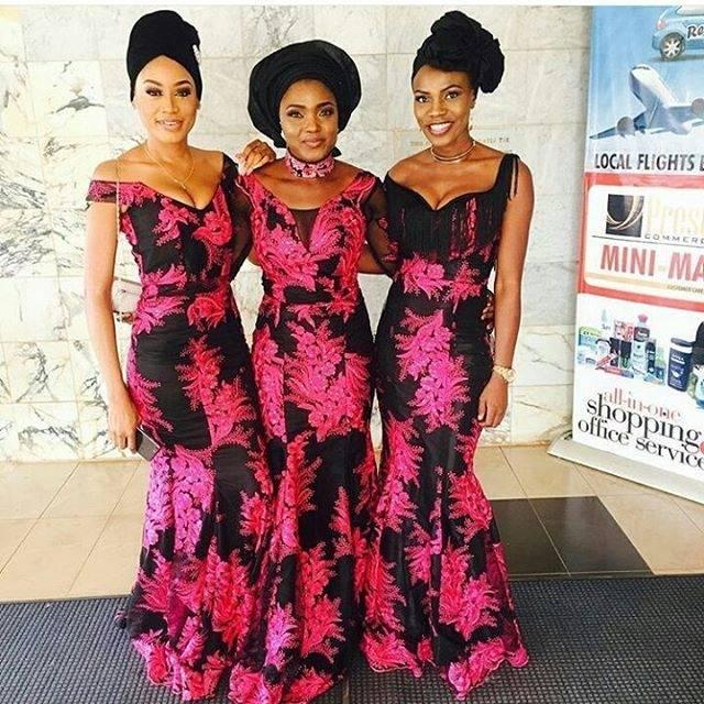 Pretty Nigerian Wedding Dresses 2016 for Nigerian Traditional