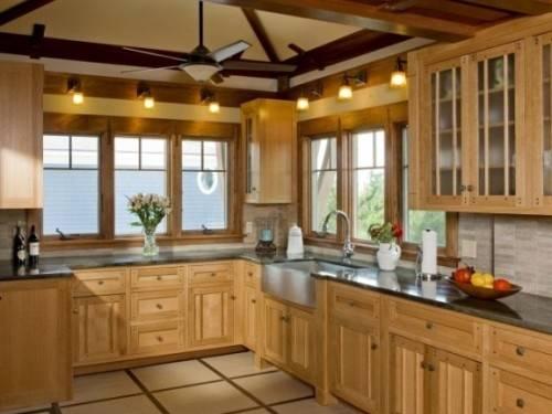 [Global Kitchen Design] Natural Wood Modern Kitchen Pale Wood