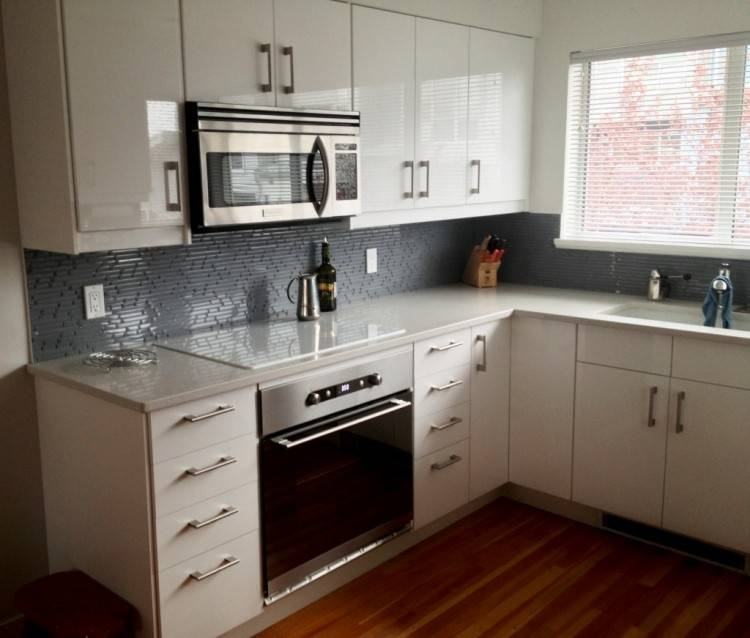 how to install kitchen cabinets on brick wall installing vanilla white