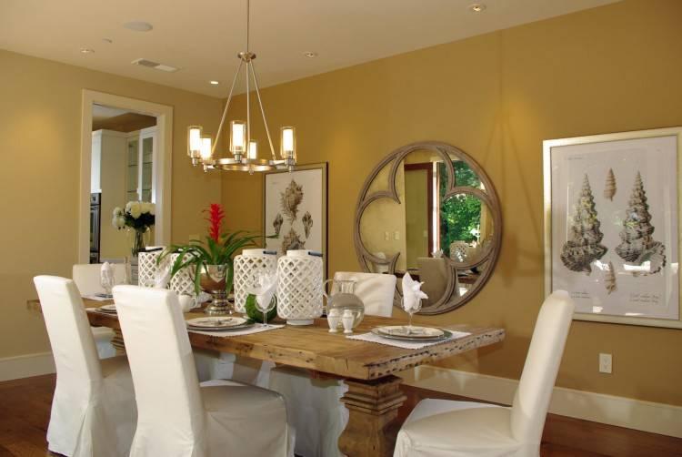 room decor mirrors mirror dining
