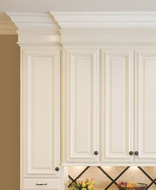 molding for kitchen cabinets tops | Crown Molding (TOP) vs