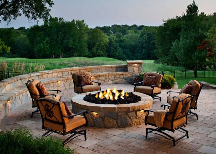 Outdoor Kitchen | Outdoor Living | Outdoor Grill | Brick & Stainless Steel  Grill | Outdoor · Outdoor Living | Outdoor Firepit