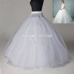 David's Bridal Extreme Ball Gown Hoop Slip Style BGHOOPSLIP, White,