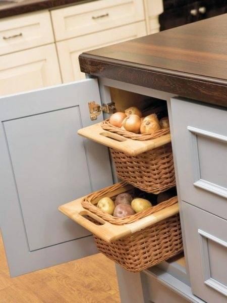 Tips for organizing kitchen cabinets that hold breakfast foods, drink cups & drink mixes