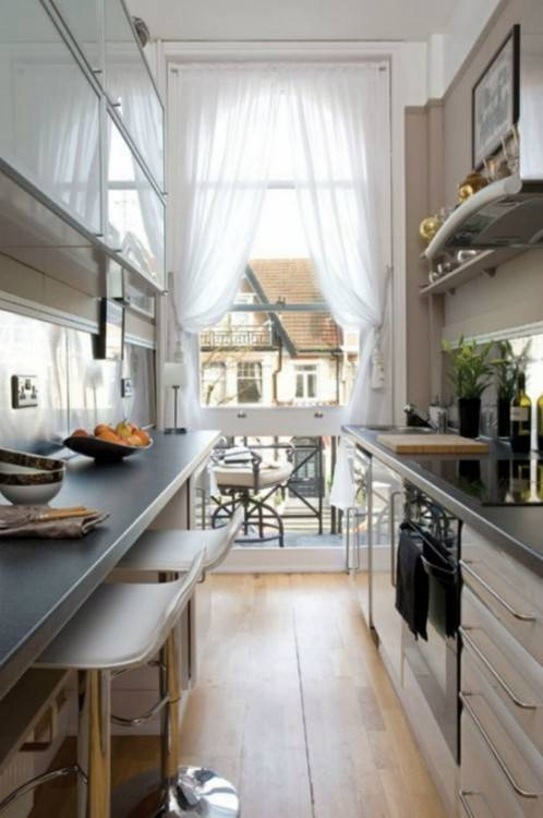 Galley kitchen ideas – functional solutions for long, narrow spaces