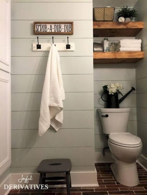 Bathroom Design Thumbnail size Bathroom Interior Farmhouse Bathrooms  Ideas Old shabby chic fixer upper farmhouse style