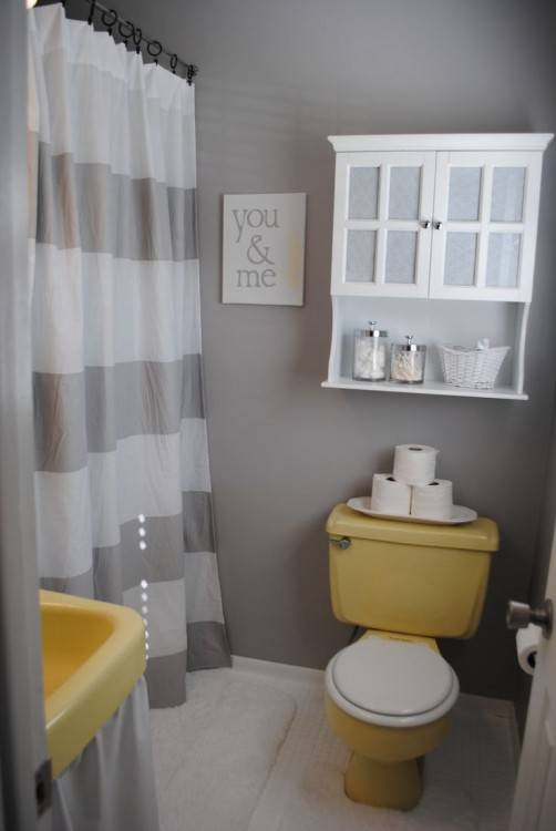 grey and white master bathroom ideas give your a budget makeover storage in the middle going