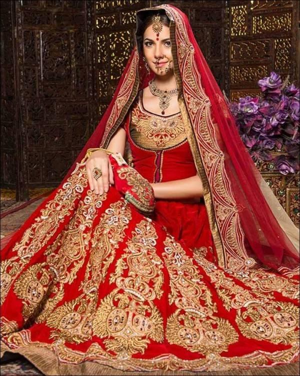 Bride wear salwar  kameez