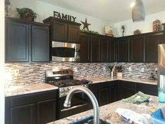 After the kitchen cabinet makeover