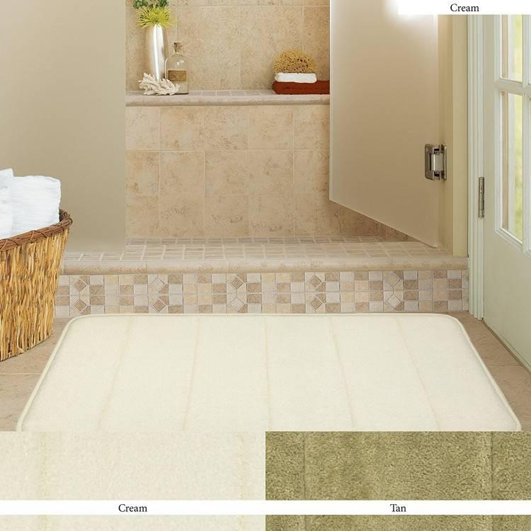 double vanity bathroom rug