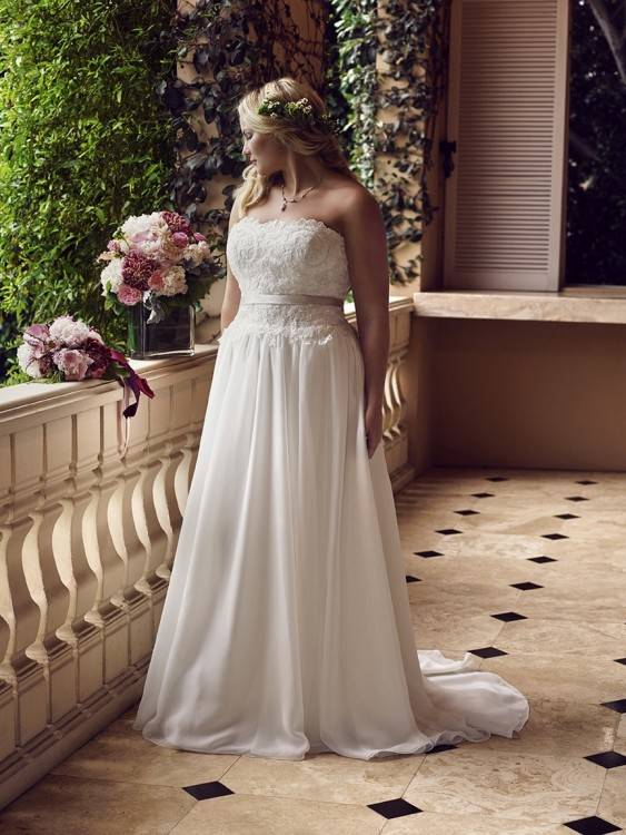 Dreamy modest wedding dress, style Jocelyn, is part of the Wedding  Collection of LatterDayBride