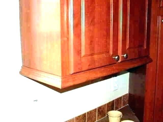 Kitchen Cabinet Trim Base Ideas Crown Molding Cabinets Designs Shoe Under Wood Add Pictures Installing Photos