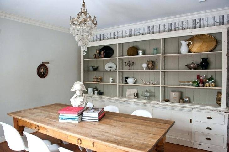 dining room shelves wall  ideas